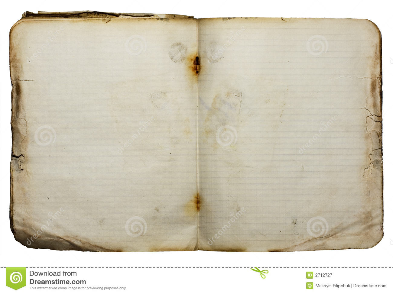 Old Notebook Royalty Free Stock Photography - Image: 2712727