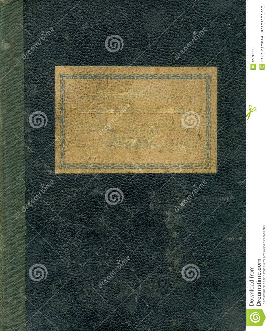 Vintage Book Cover Notebooks : Old notebook cover stock photo image of rough school