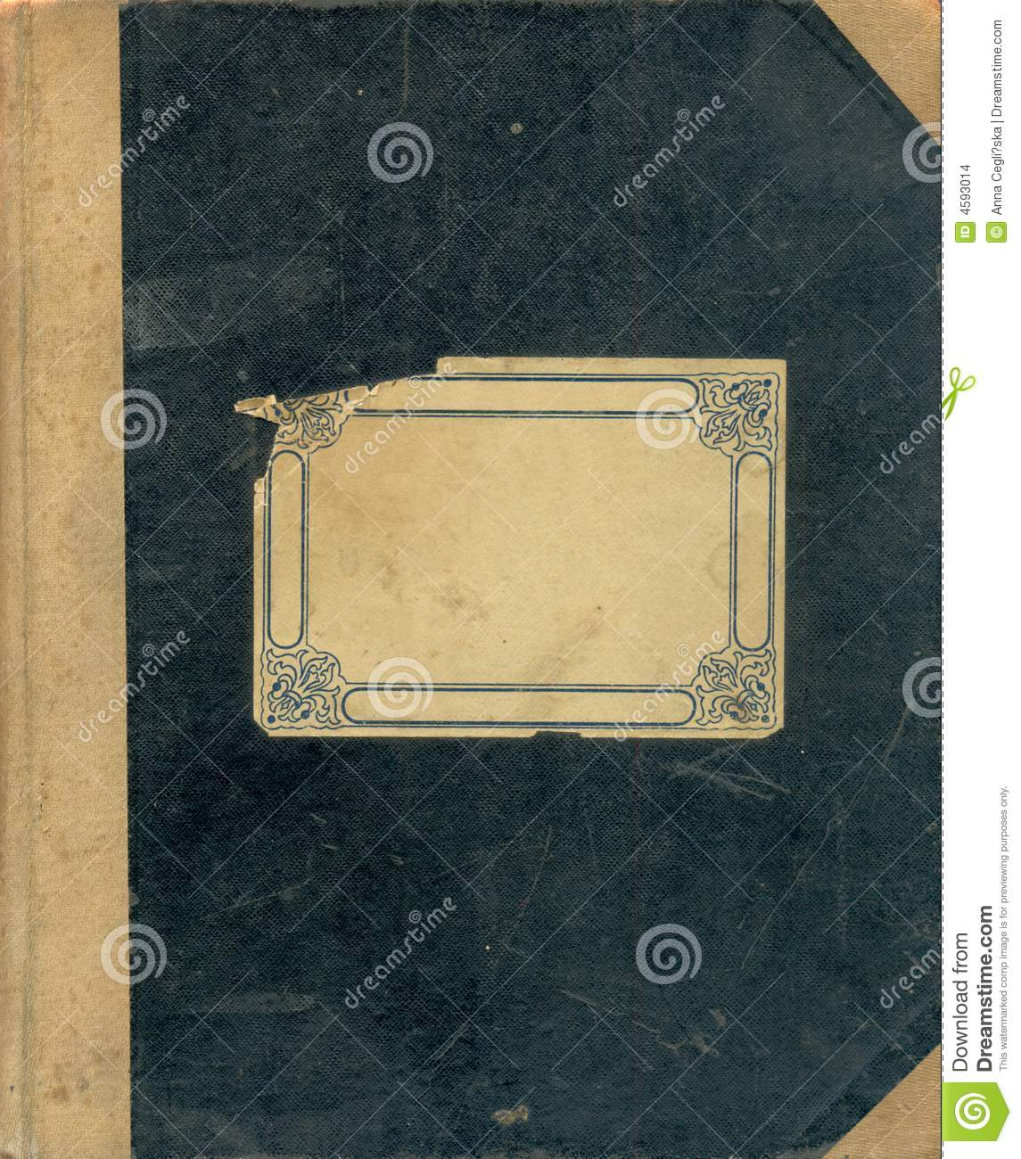 Vintage Book Cover Notebooks : Old notebook s cover stock images image