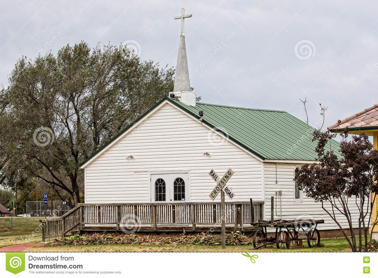 Old one room church