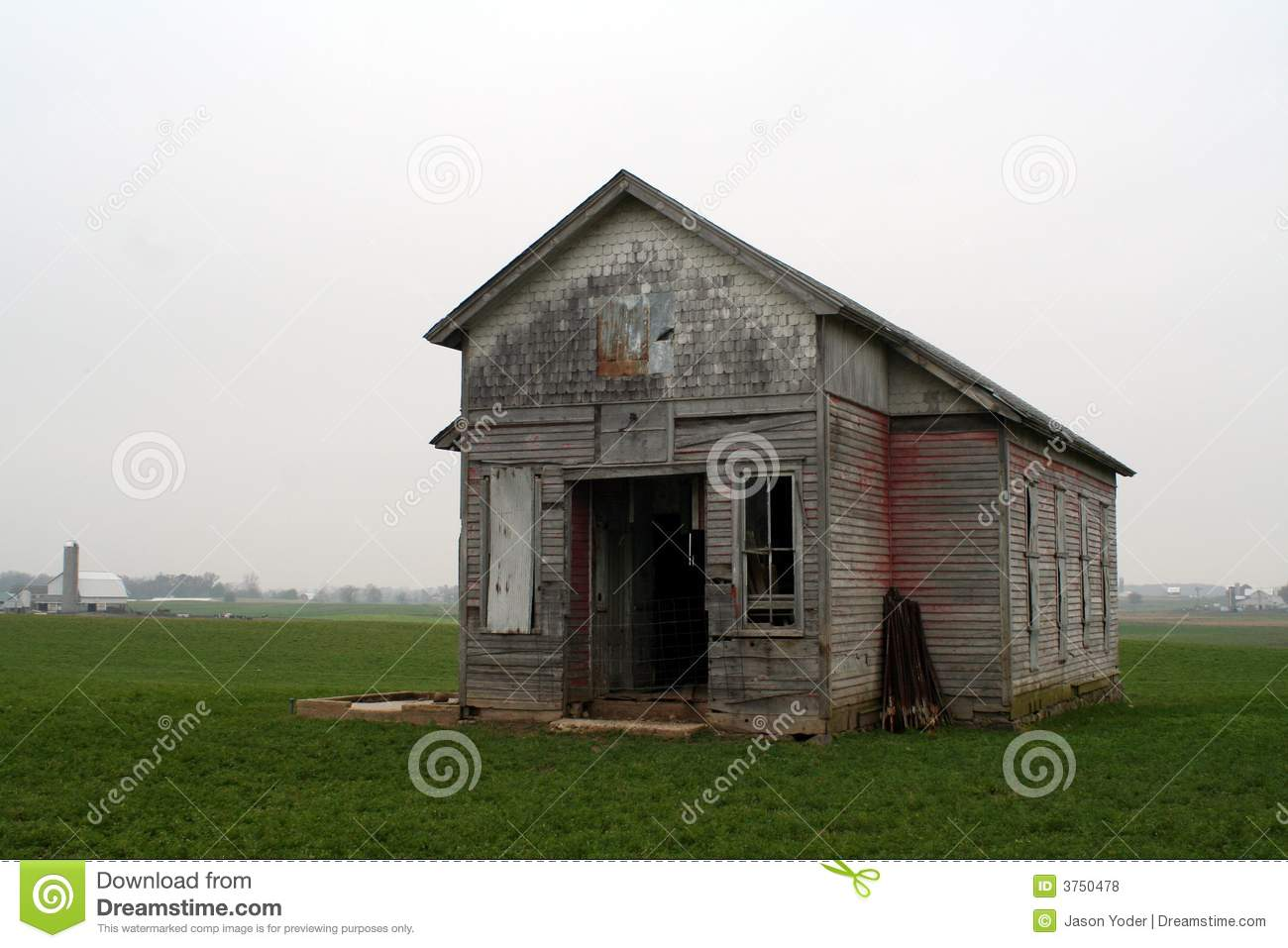 Old one room school house stock photo image of education for Single room house