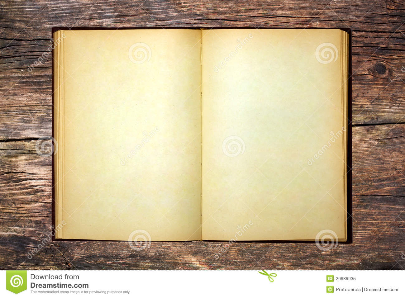 The Old Open Book Royalty Free Stock Photo - Image: 20989935