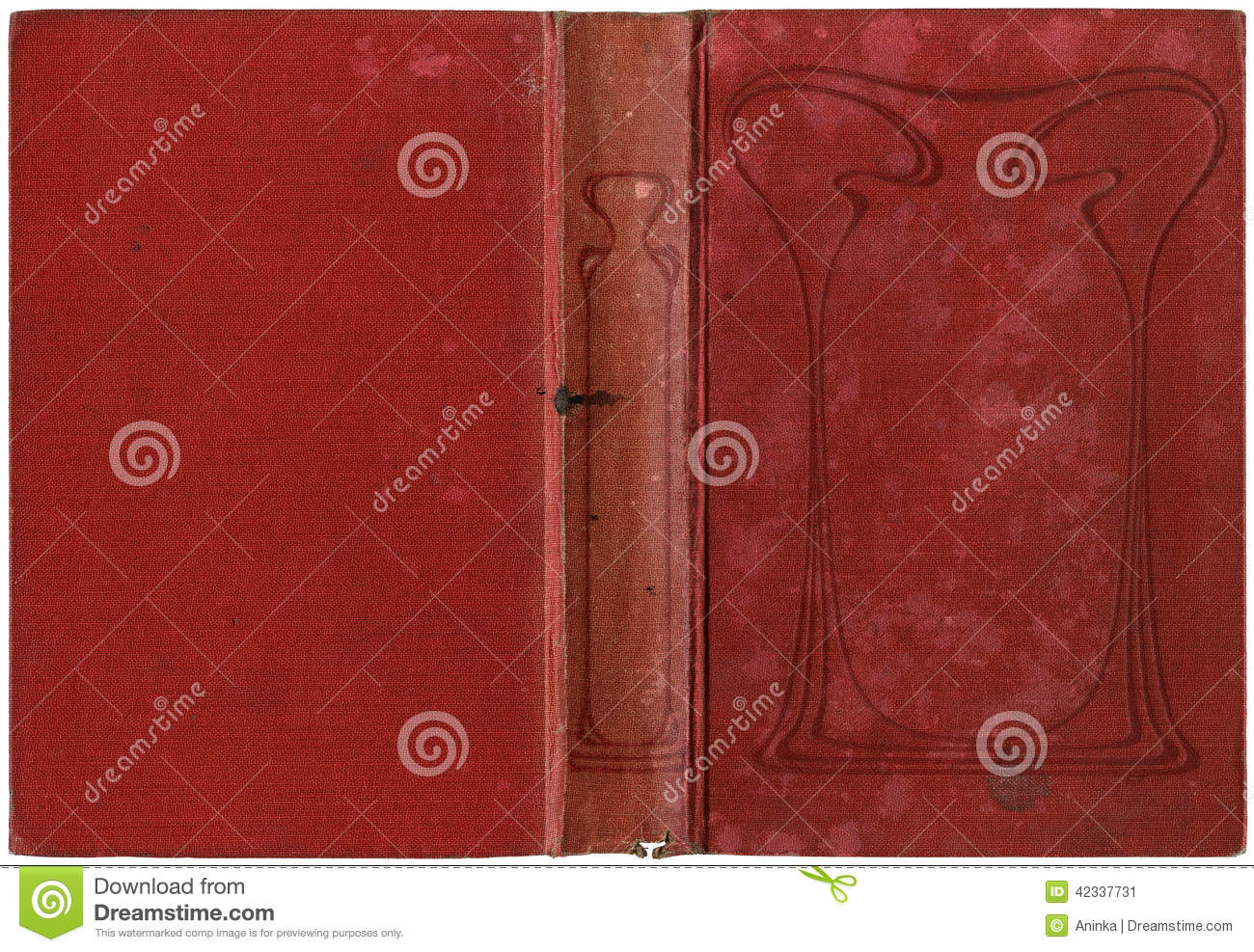 Book Cover Art Size ~ Old open book stock photo image
