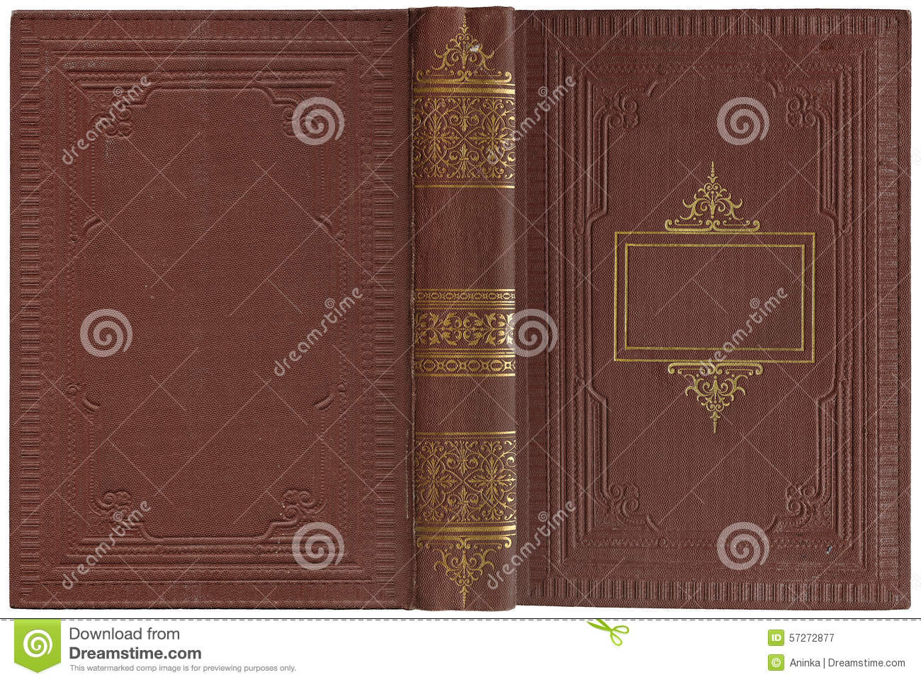 Book Cover Material Xl : Old open book stock photo image
