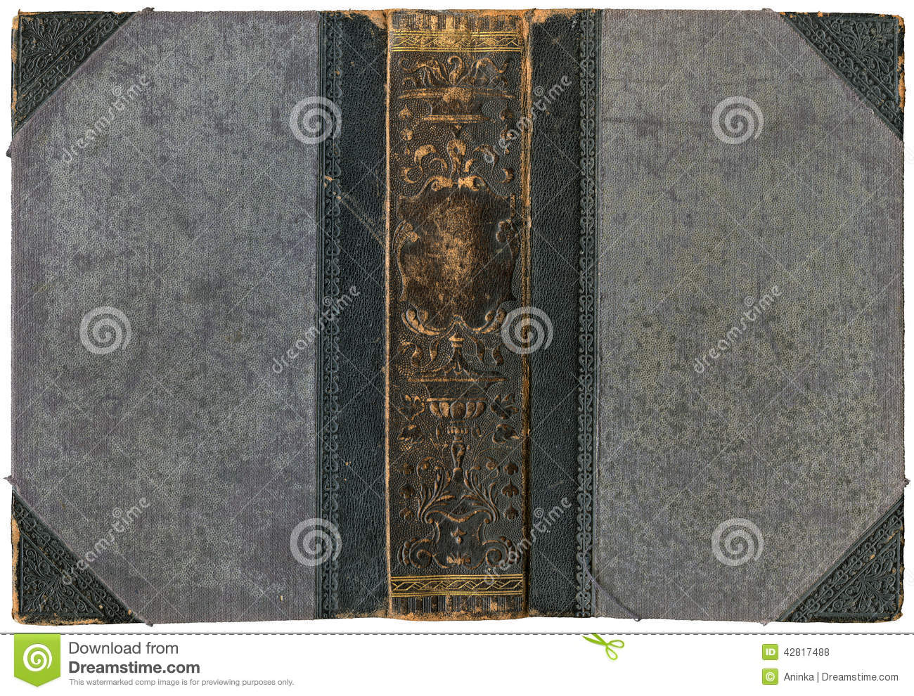 Book Cover Material Xl : Old open book stock photo image of golden fondo