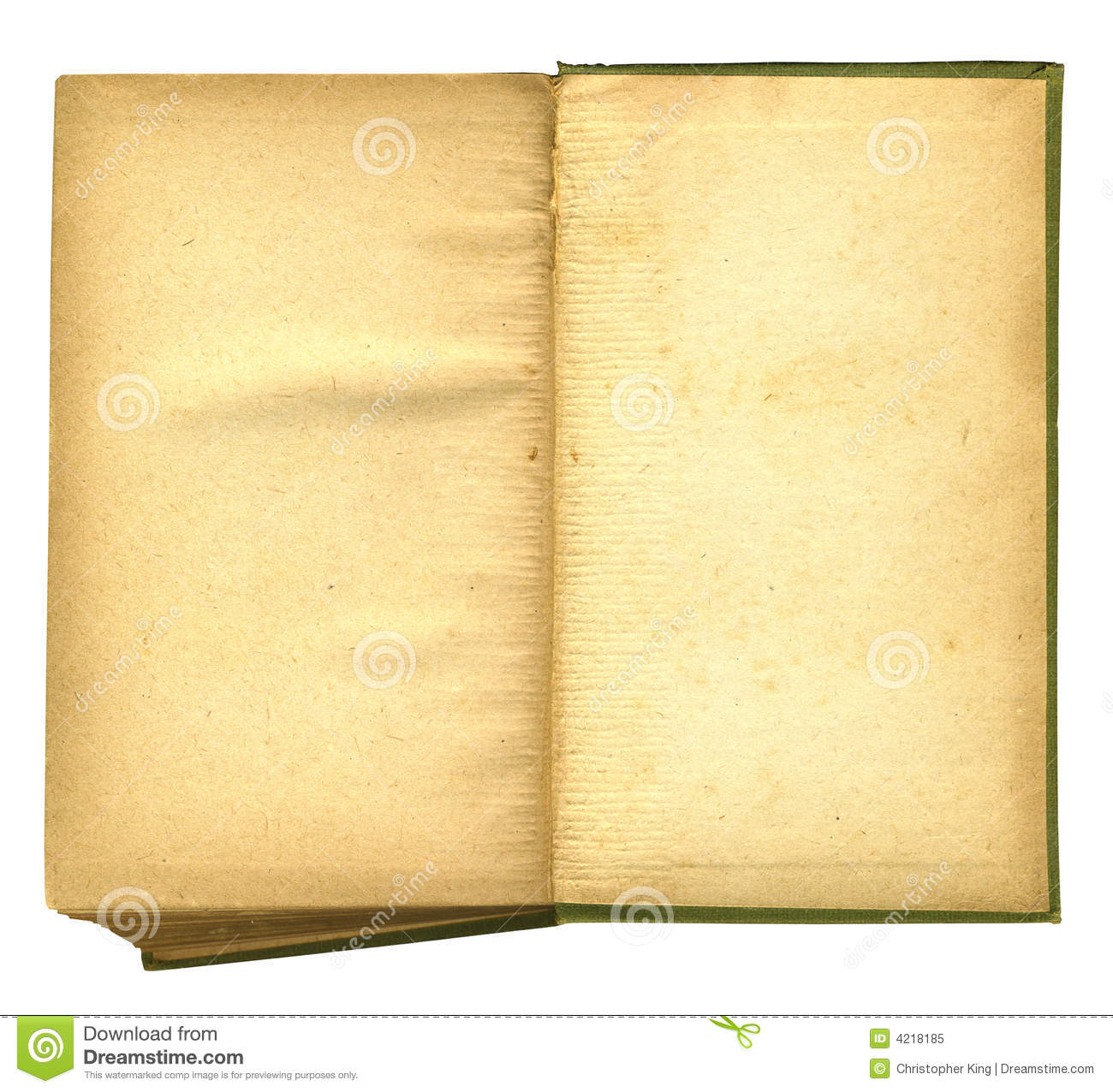 Old open book featuring rough paper texture royalty free for Vintage book paper