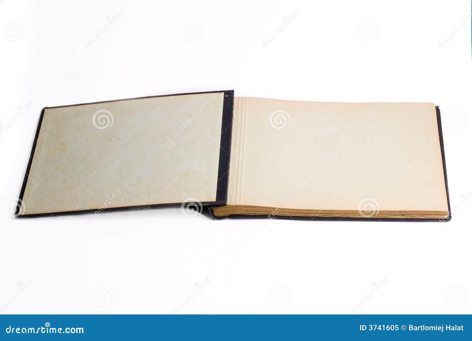 Open Photho : Old Open Book / Photo Album Royalty Free Stock Photo - Image: 3741605