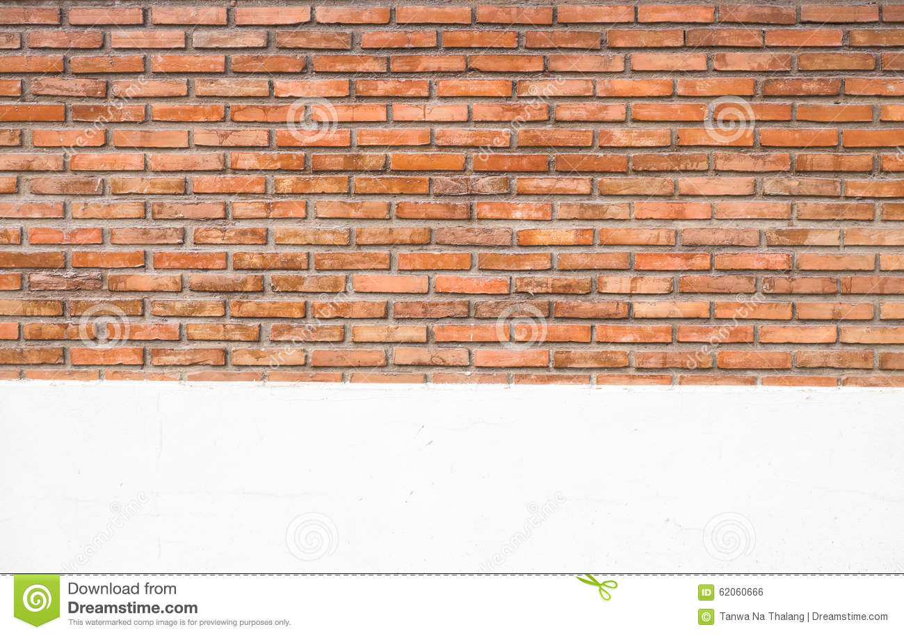 Orange Cement Wall : Old red orange brick wall background texture royalty