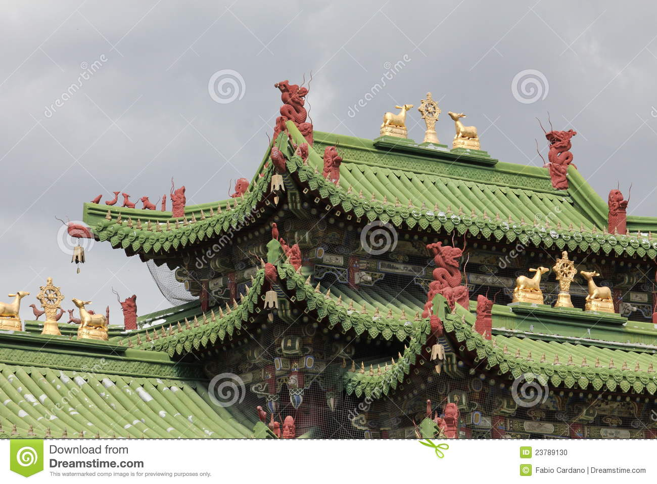 Old oriental palace