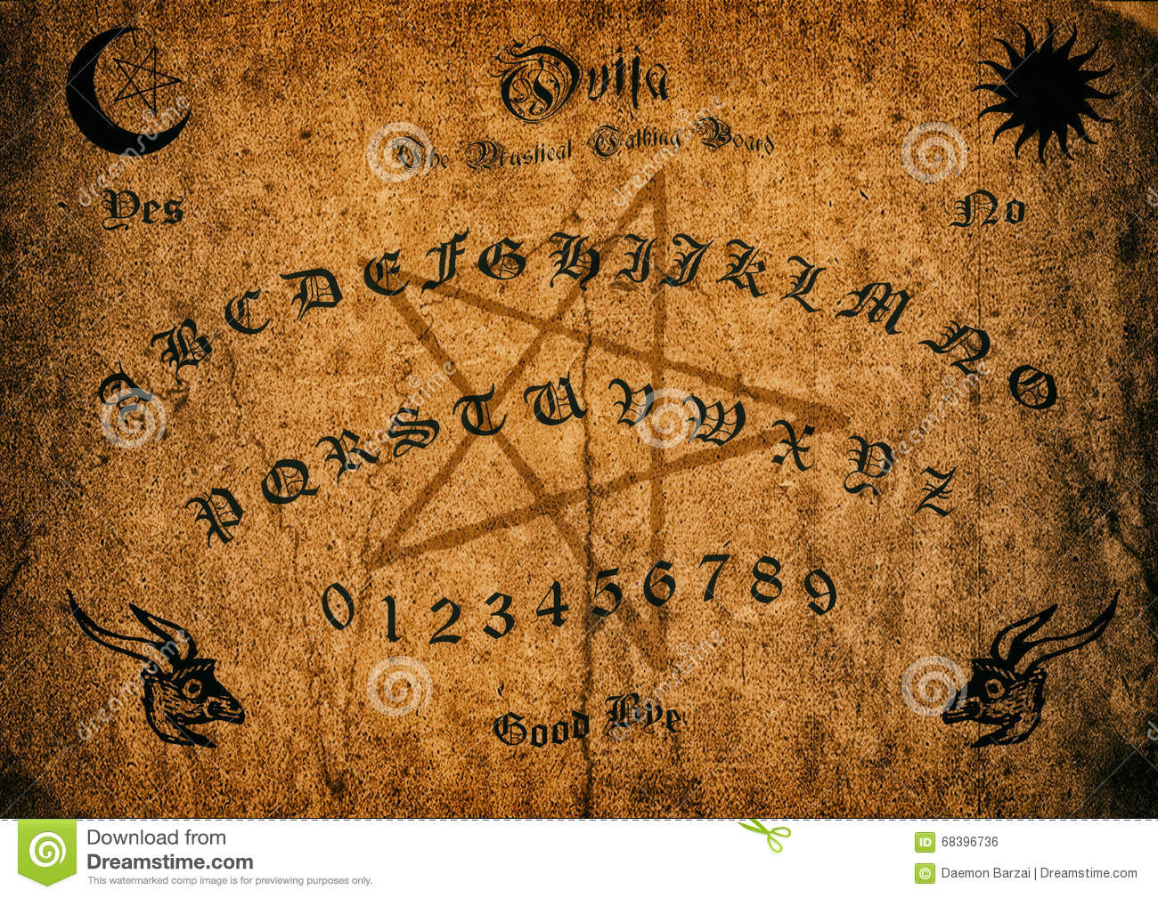 Old Ouija Board
