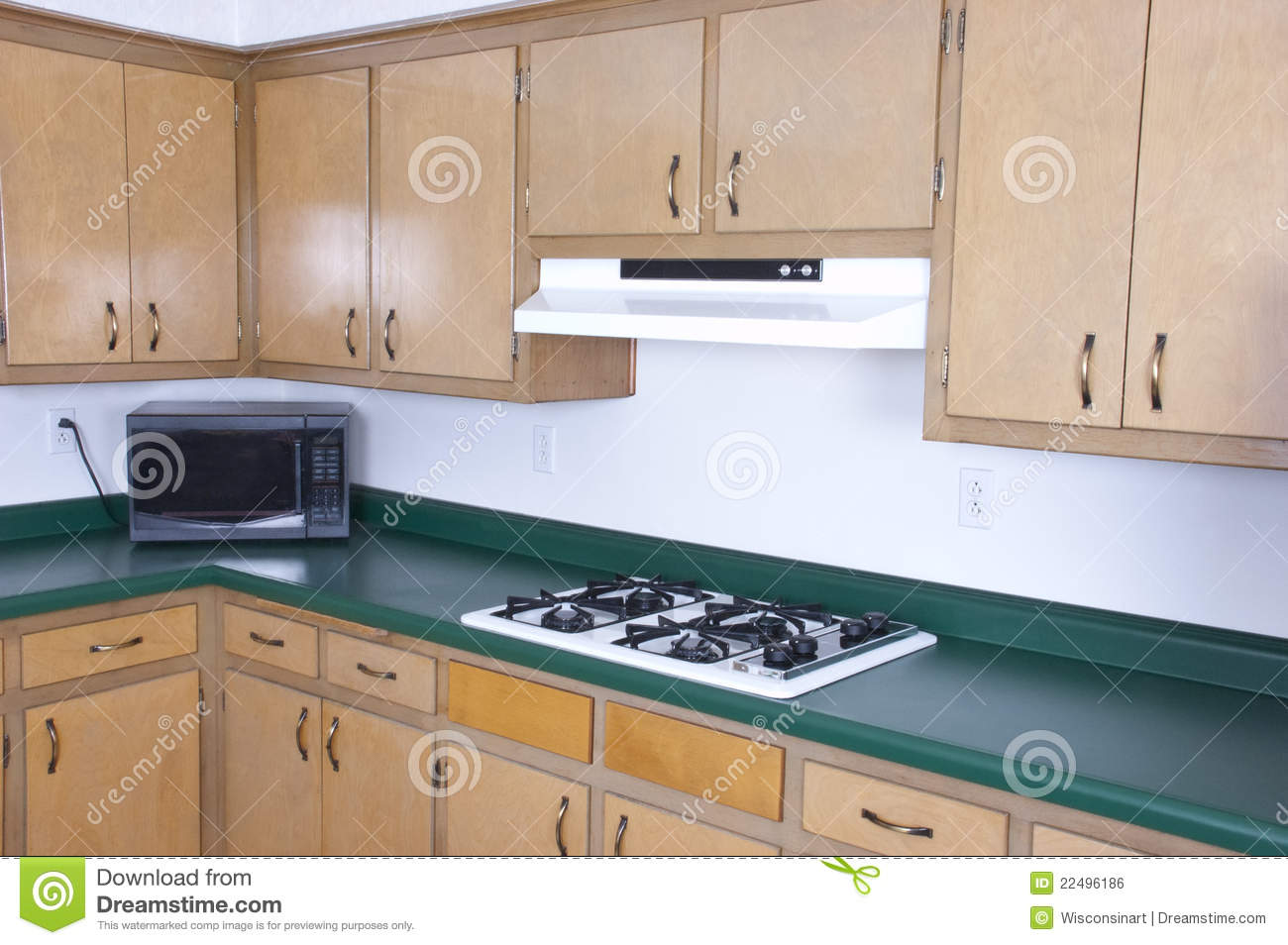 Old outdated kitchen cabinets needs remodeling stock photo for Renovating kitchen units