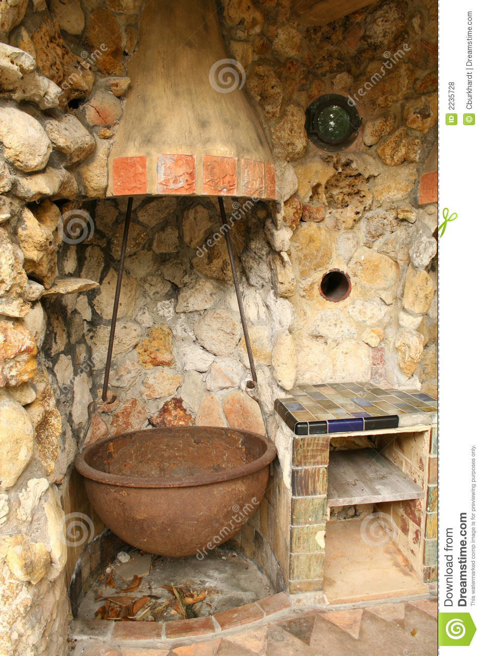 Old Outdoor Kitchen Royalty Free Stock Photos Image 2235728