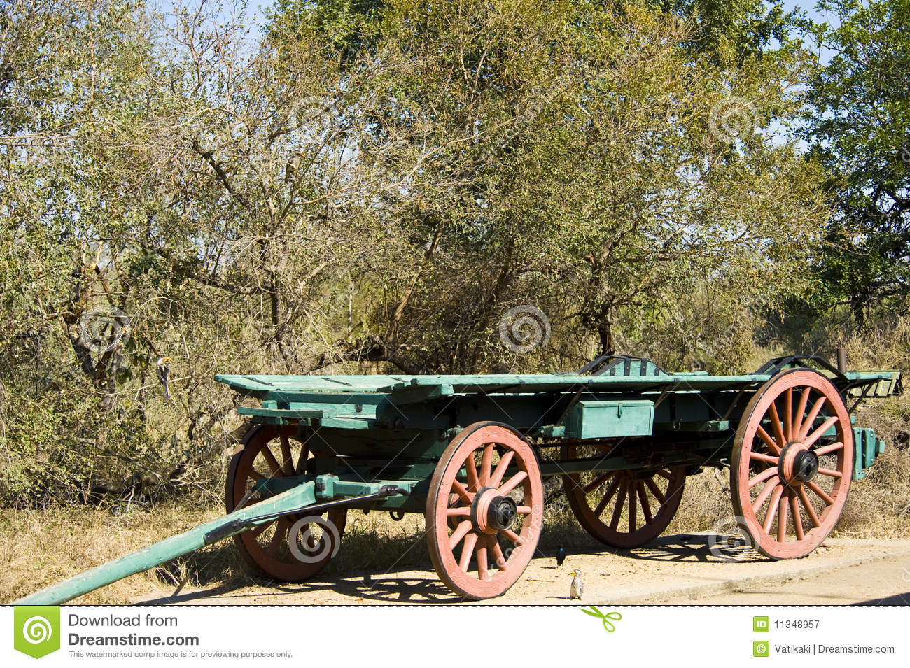 An old ox wagon royalty free stock photography image for Things to do with old wagon wheels