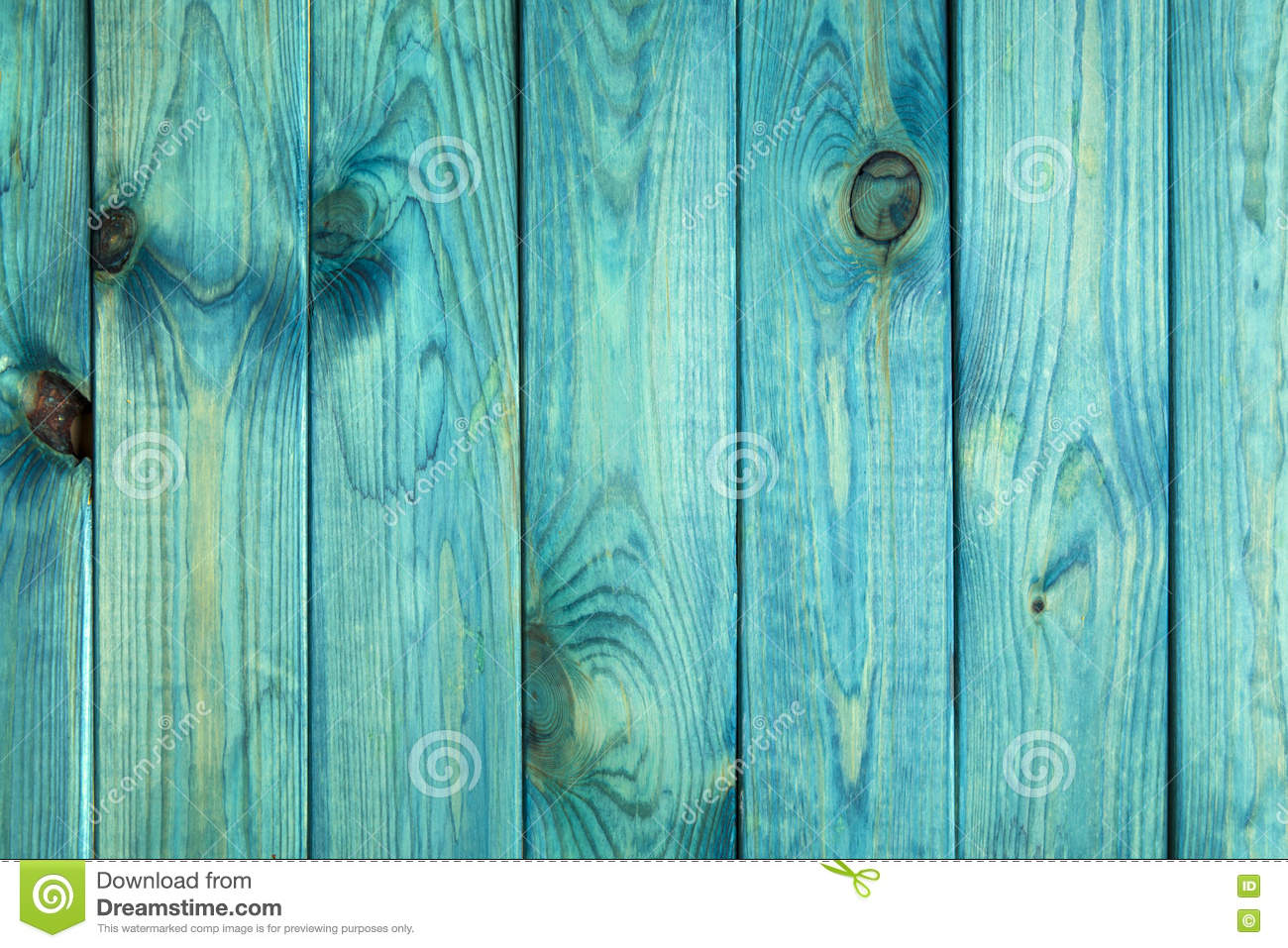 Old Painted Blue Wood Texture Or Background Stock Photo