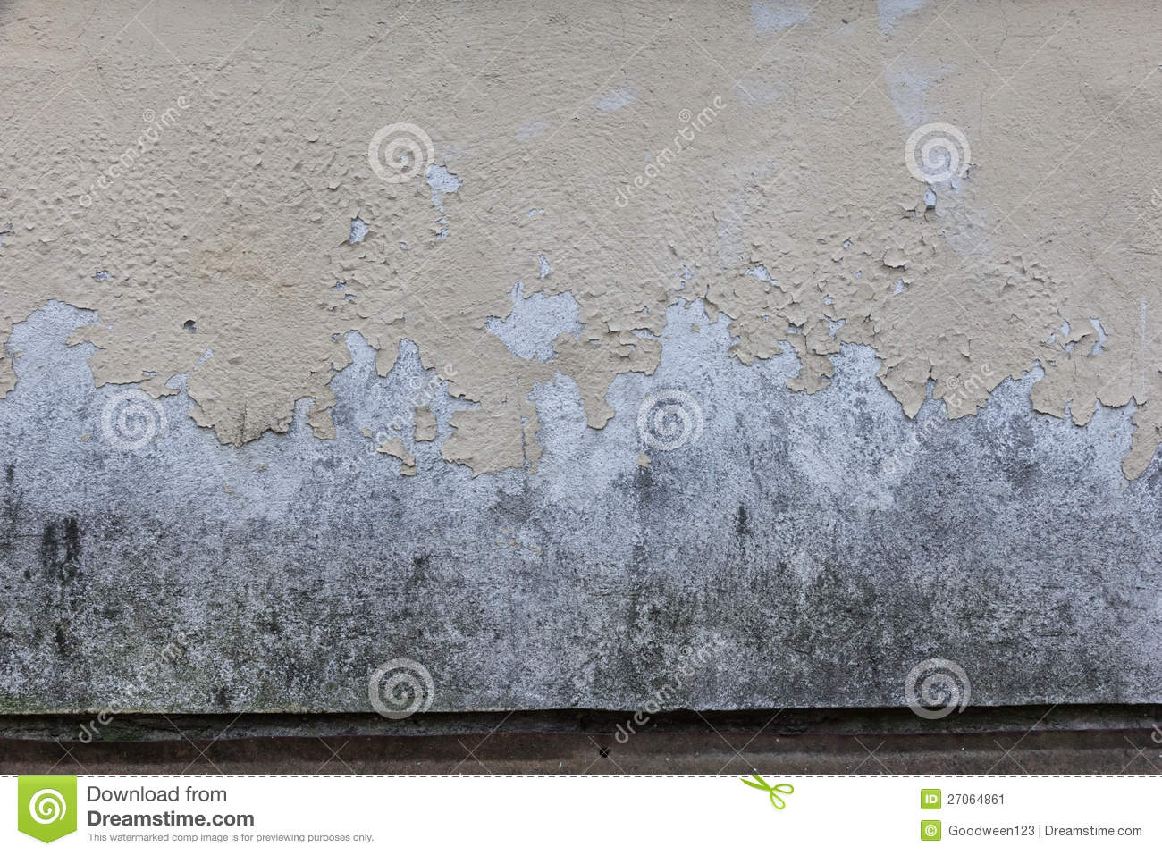 Old Painted And Dirty Concrete Wall Stock Image Image