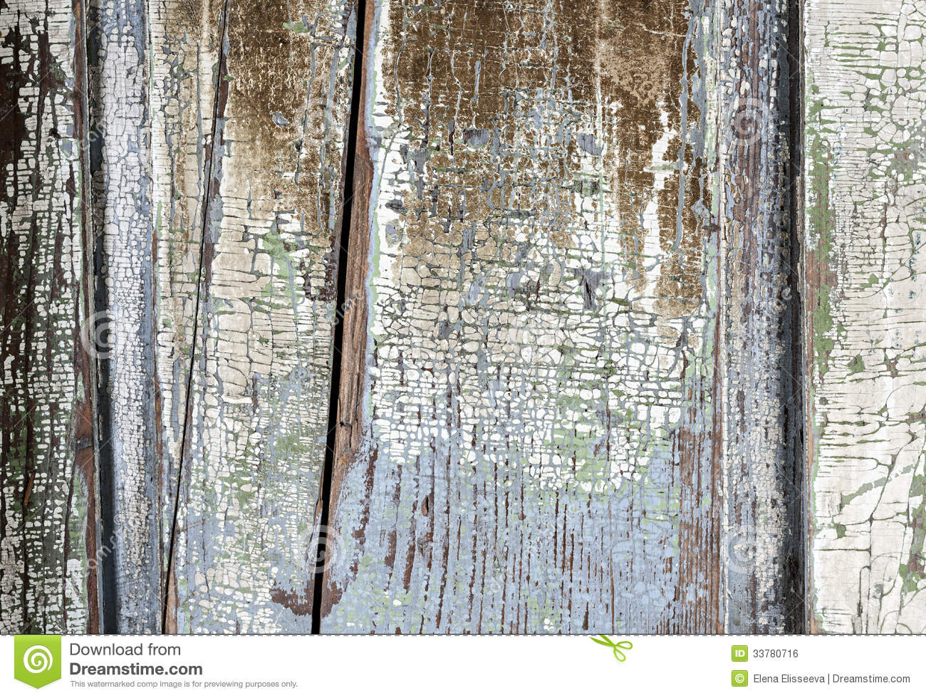 Old Painted Distressed Wood Background Stock Photo Image