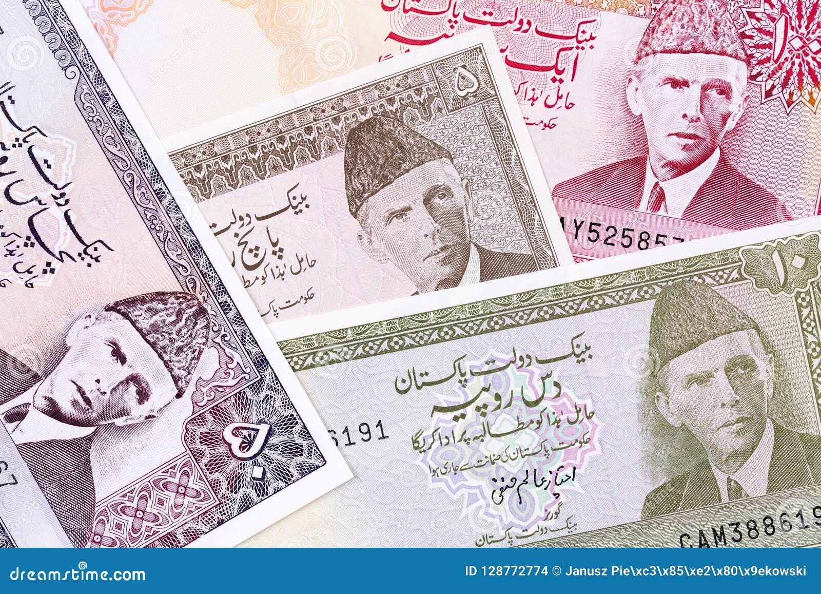 Old Pakistani money, a background