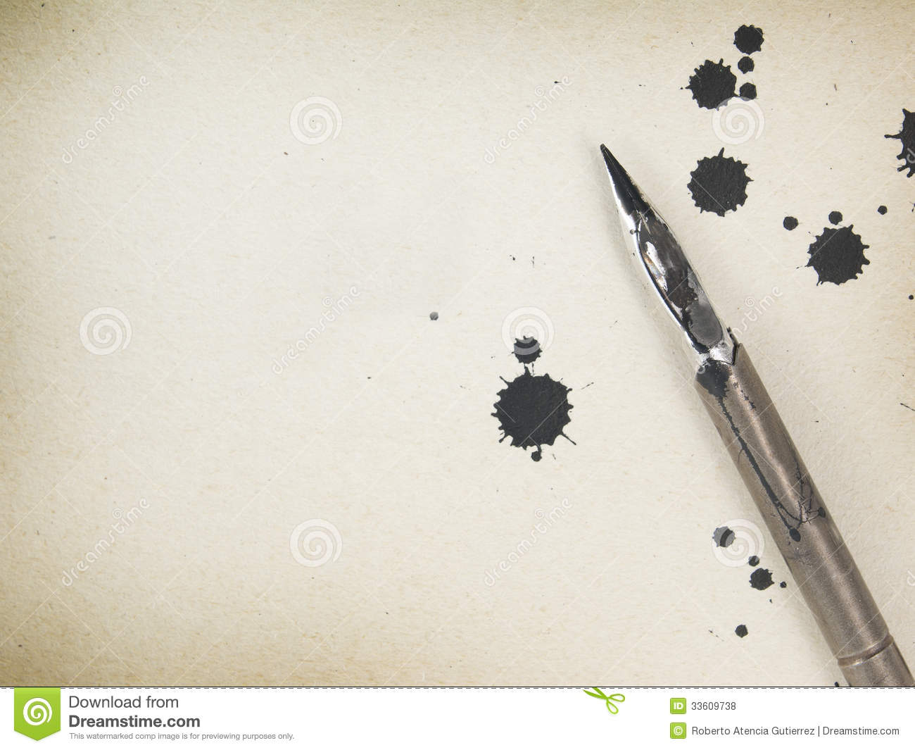 Royalty Free Stock Photos Old Paper Background Ink Quill Pen Image33609738 on Latest Old English Writing