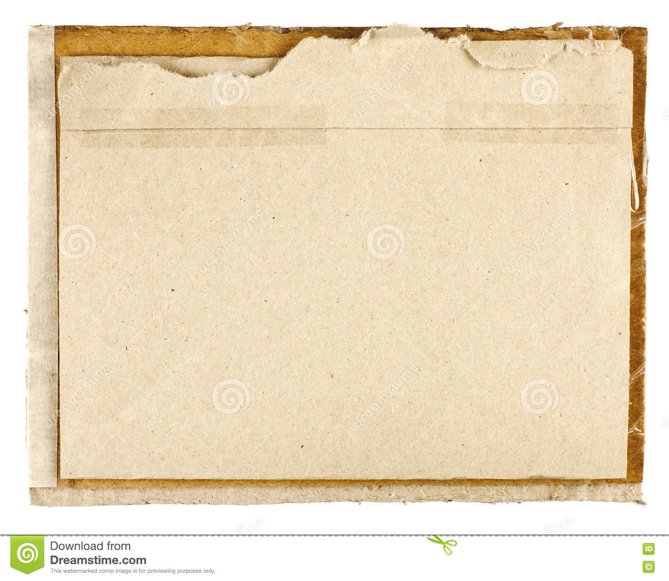 Old Paper Backgrounds Stock Image Of Ripped Graphic