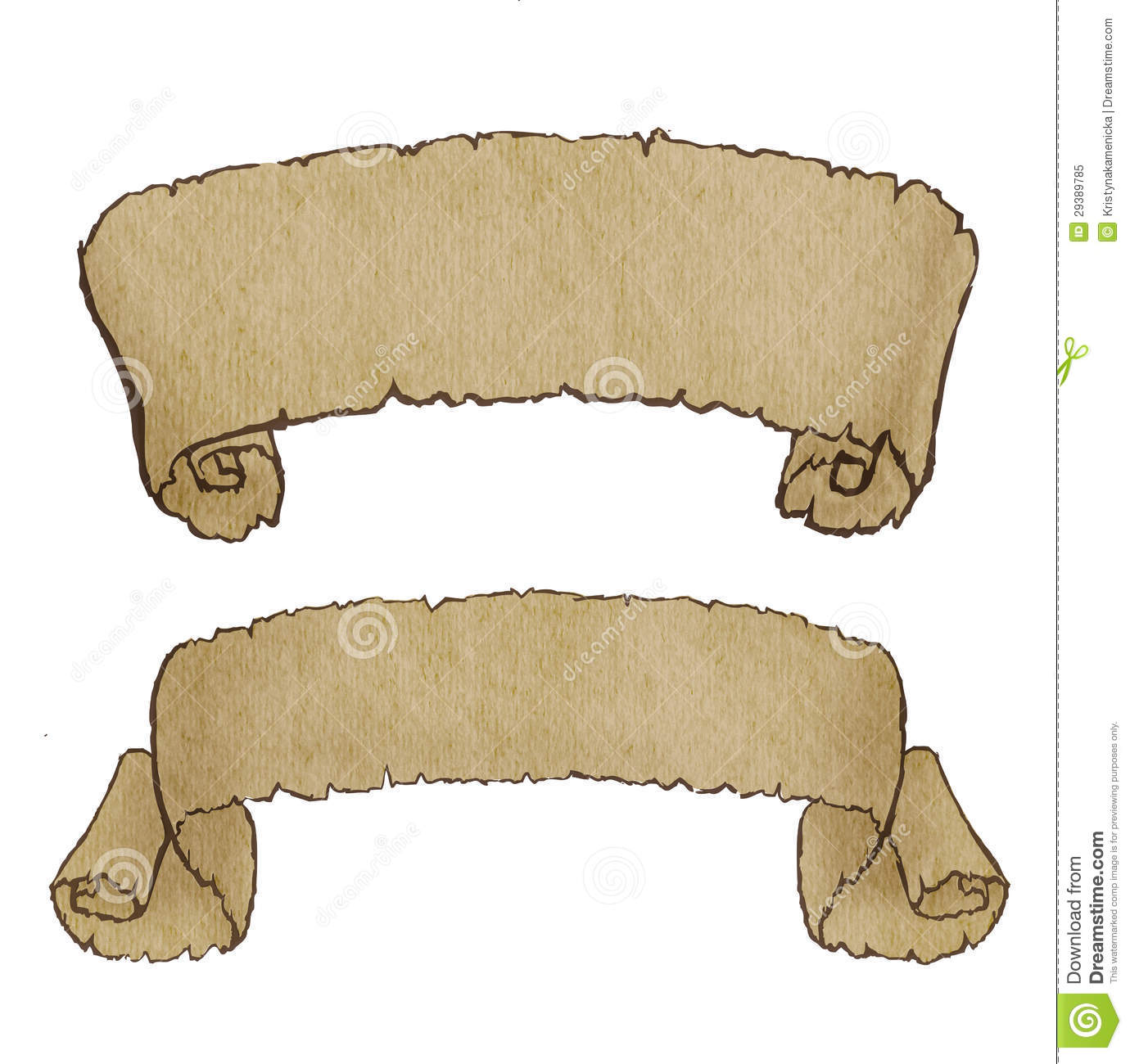 Old Paper Banner Royalty Free Stock Photo - Image: 29389785