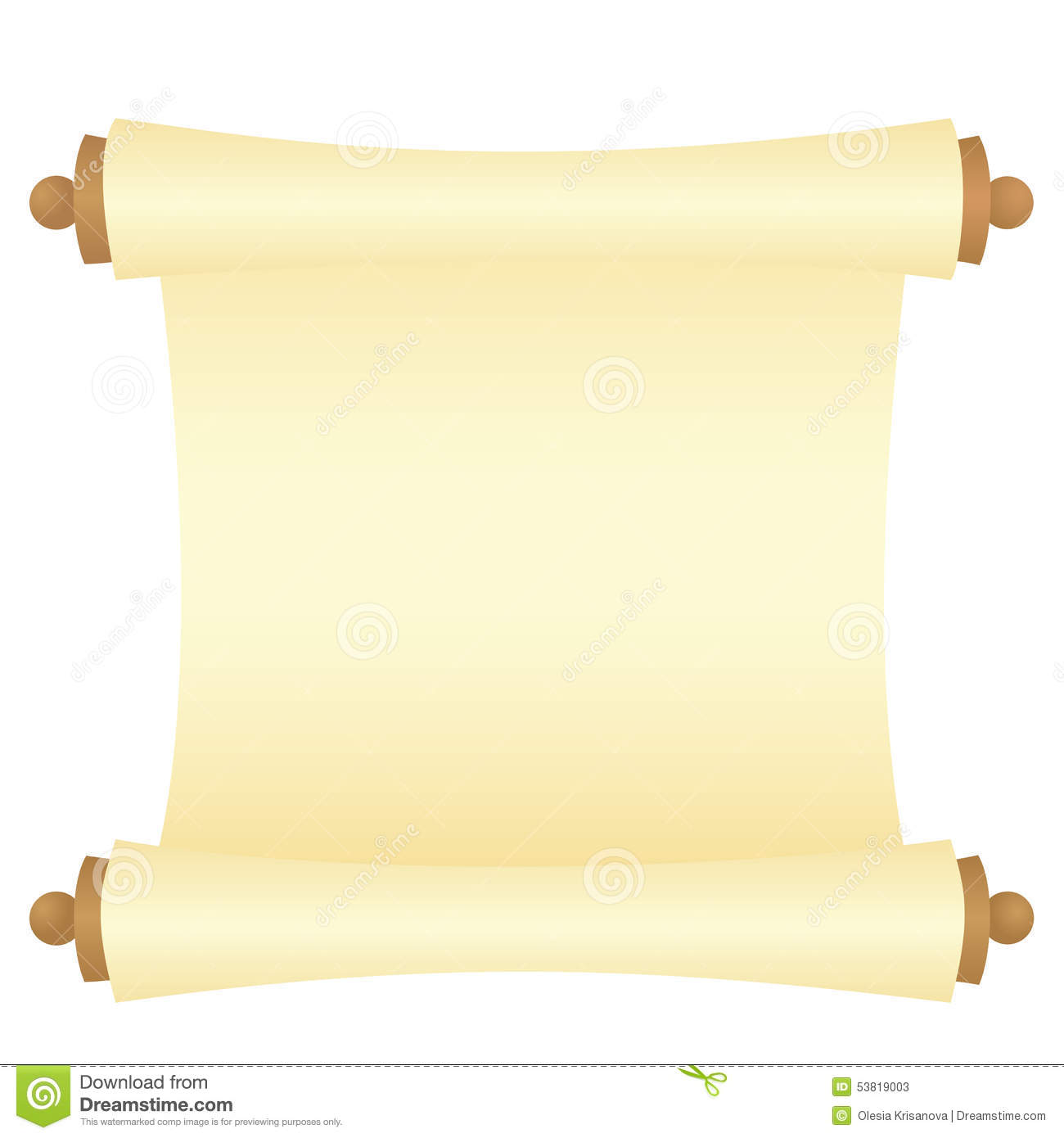 Old Paper Banner Stock Vector - Image: 53819003