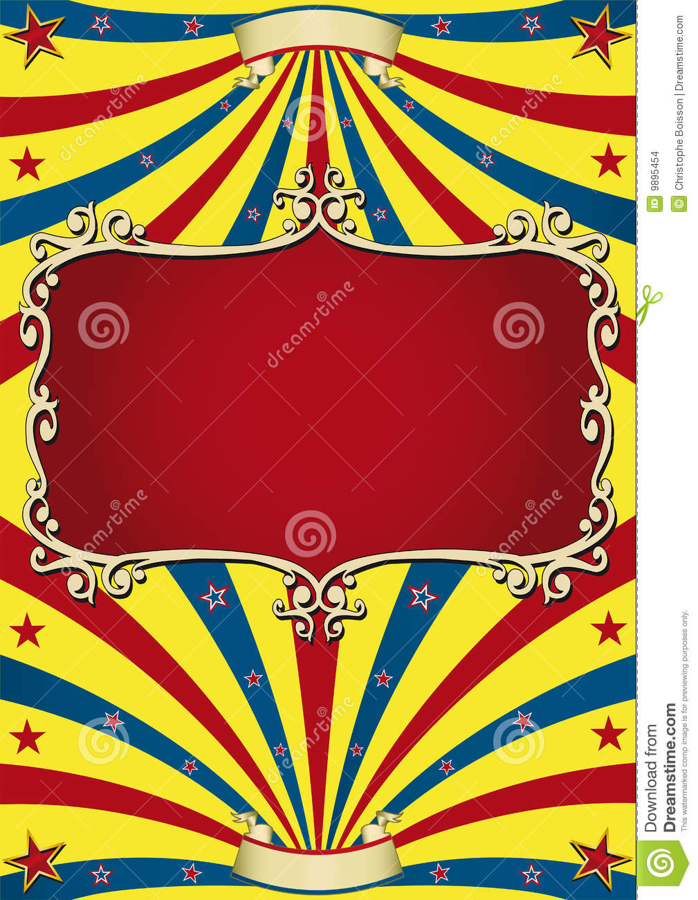 old paper circus stock images