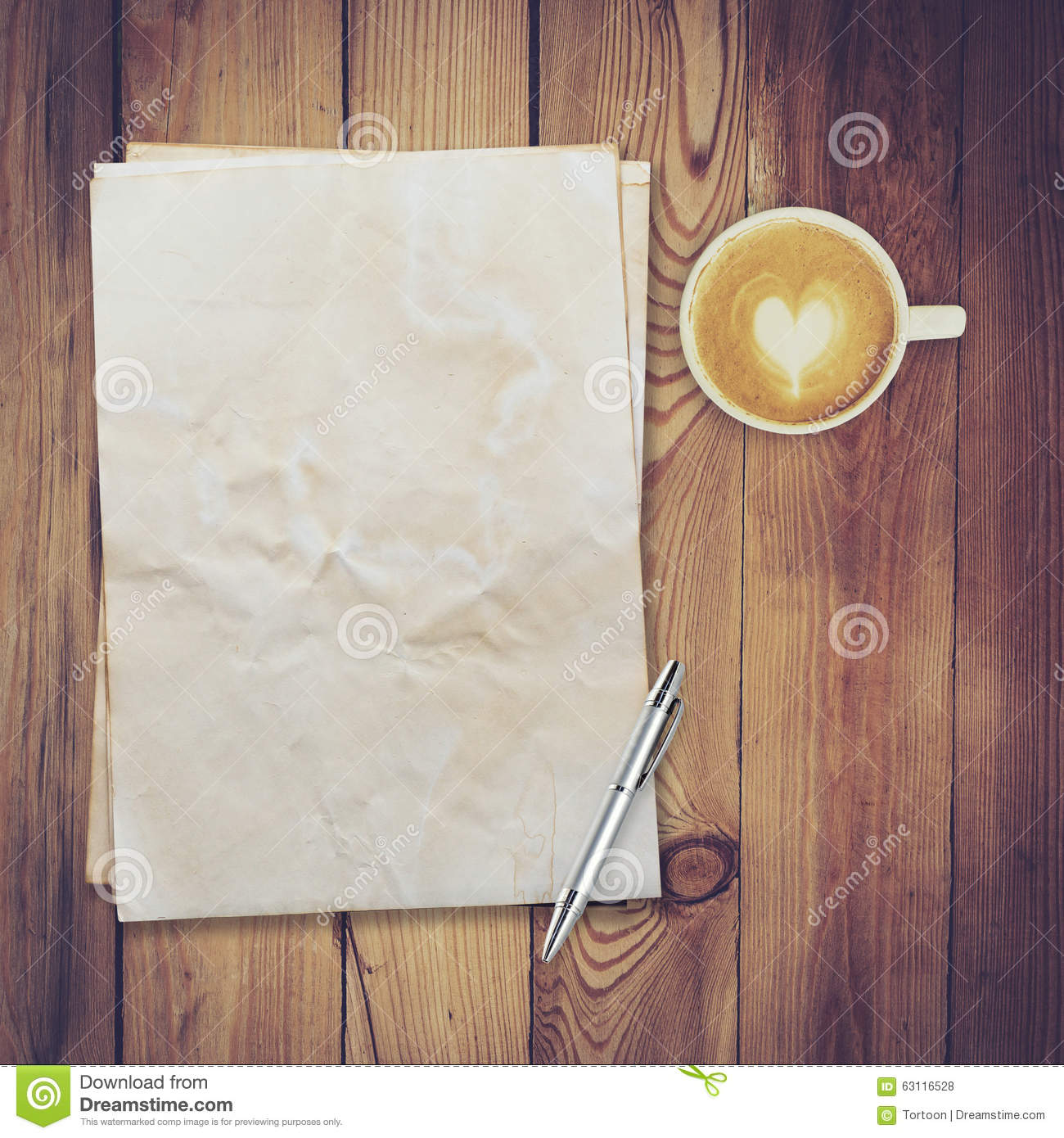 Coffee on wood table texture with space stock photo image 50936932 old paper and coffee on wood table texture royalty free stock photos geotapseo Gallery