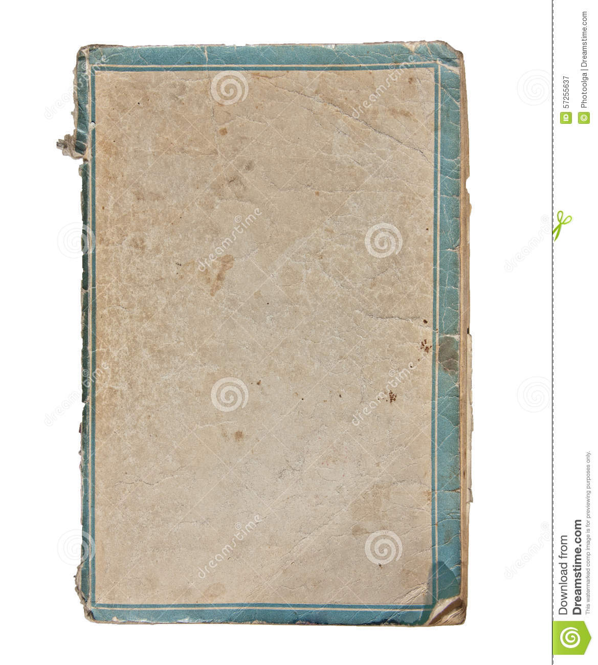 Old Paper Cover Of The Notebook Stock Photo - Image: 57255637