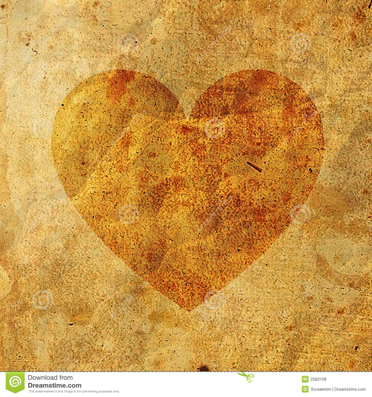 No Credit Check Credit Cards >> Old Paper On Heart Royalty Free Stock Photos - Image: 2583108
