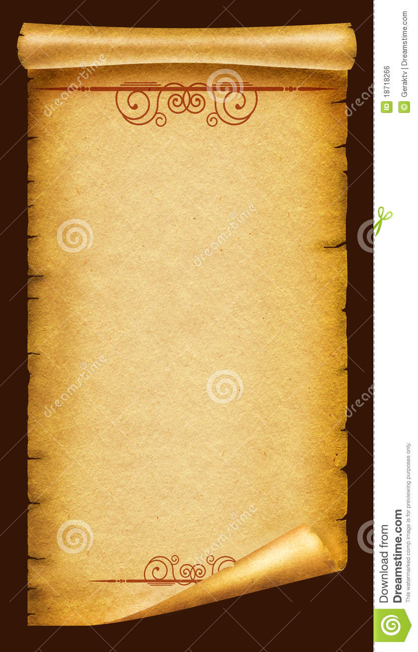 The gallery for --> Old Paper Texture Scroll