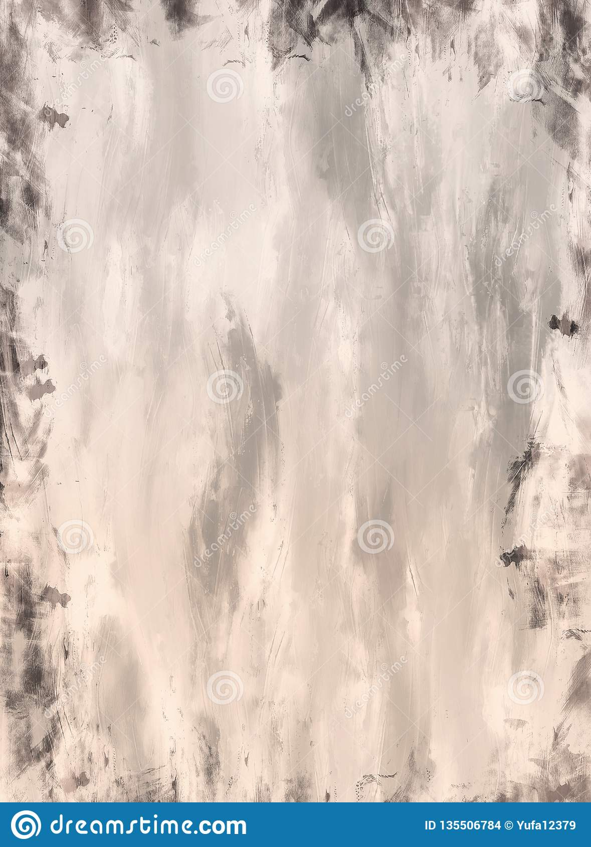 Old Paper Texture Background, Seamless Pattern Stock