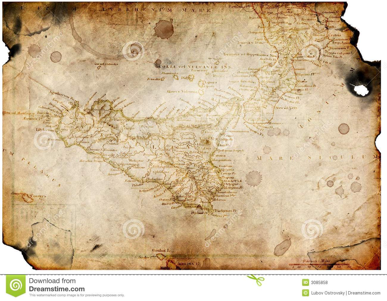 Old paper with treasure map stock illustration illustration of old paper with treasure map toneelgroepblik Images