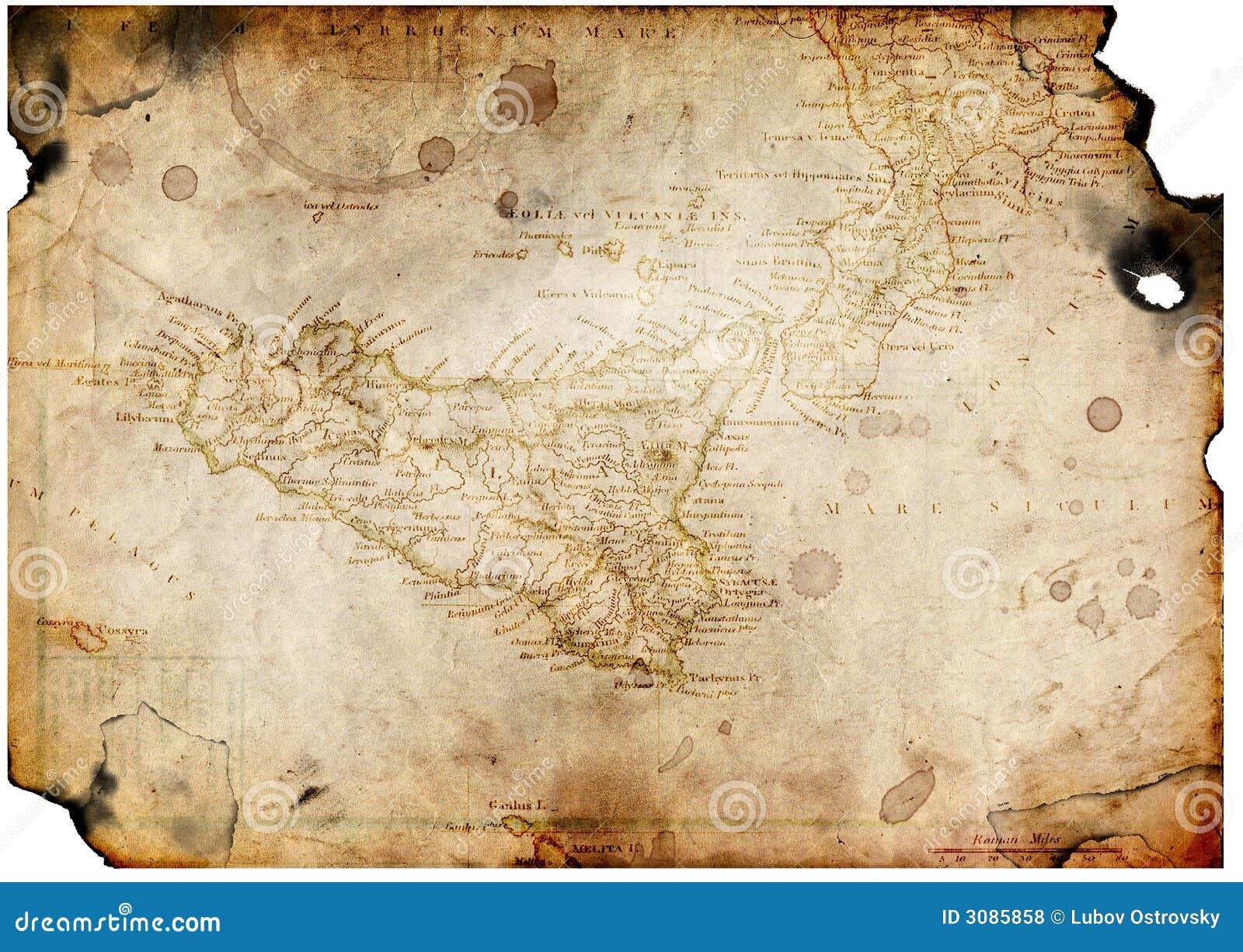 Blank Treasure Map Template