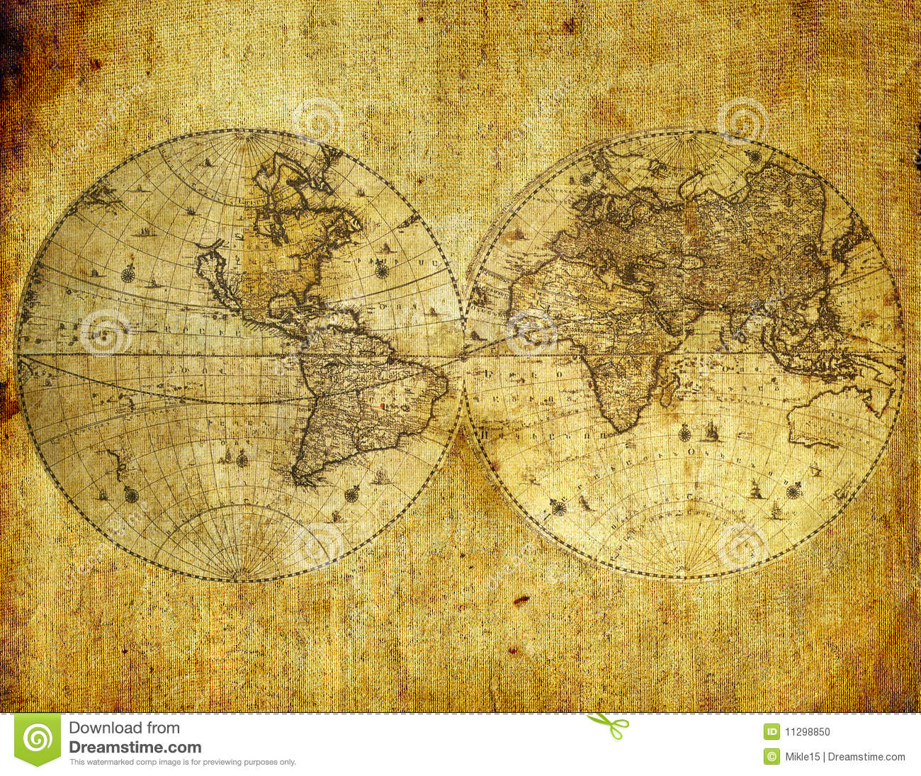 old paper world map stock photo image of obsolete