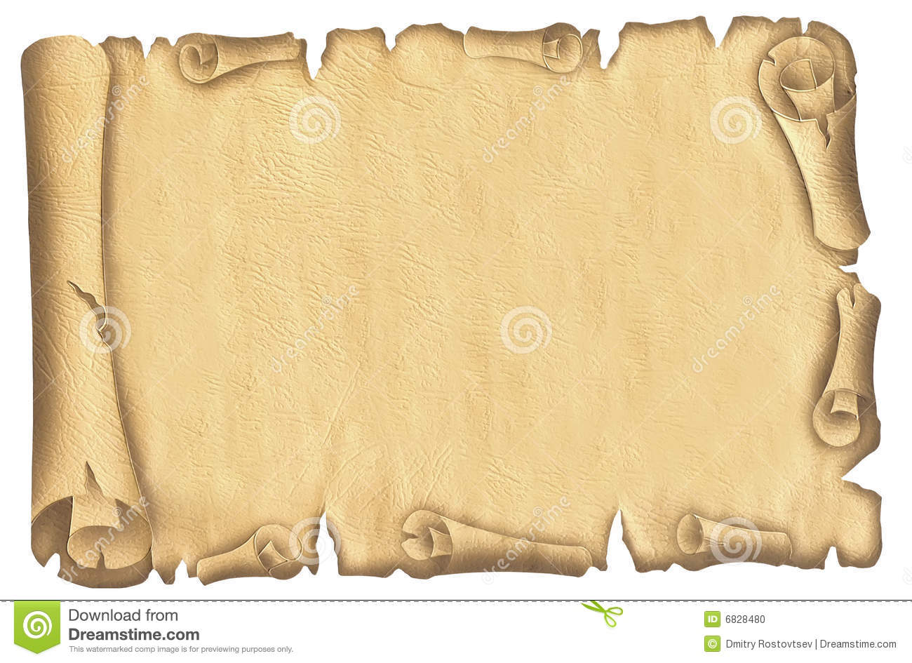 Old papyrus stock photo. Image of egypt, crumpled, poster - 6828480