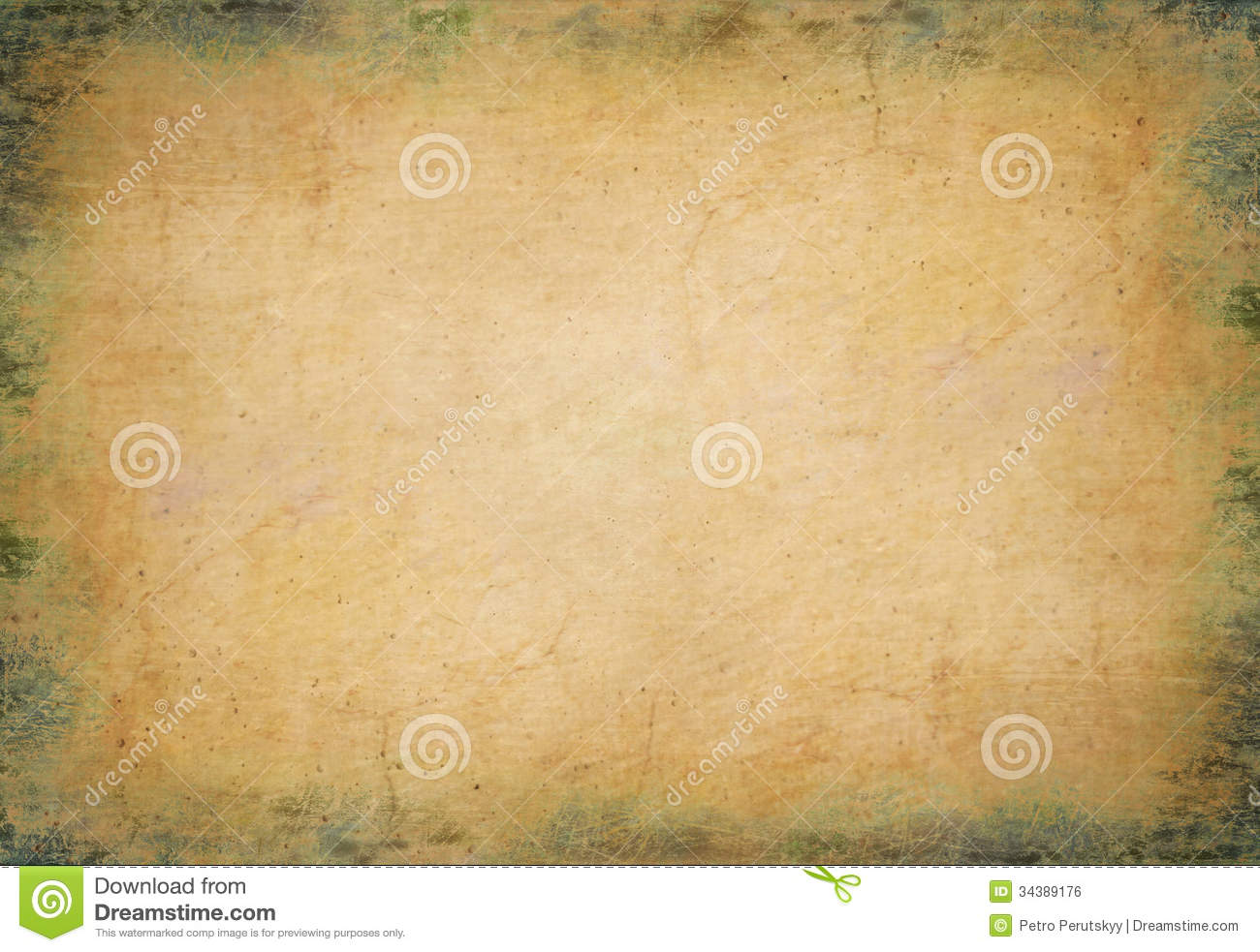old papyrus stock photo  image of rough  material