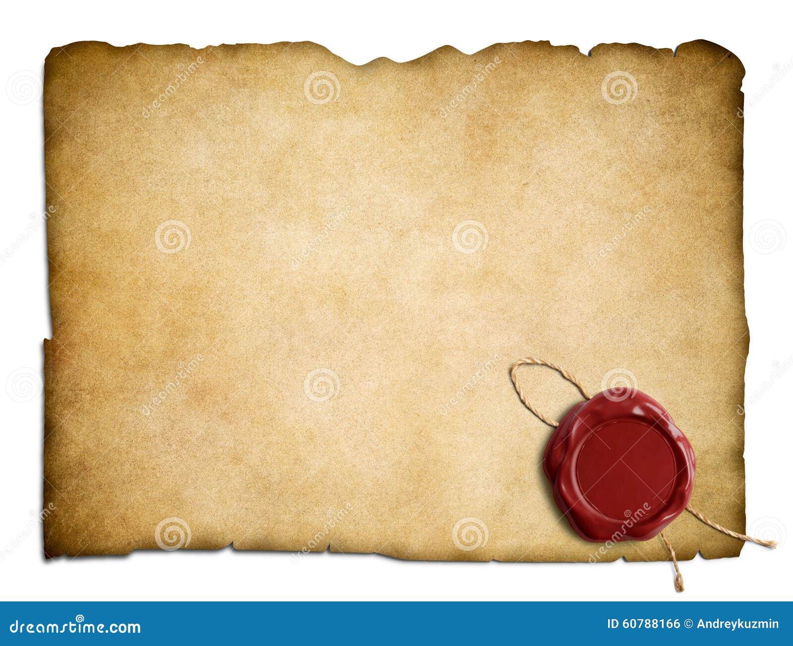 Wax paper parchment paper