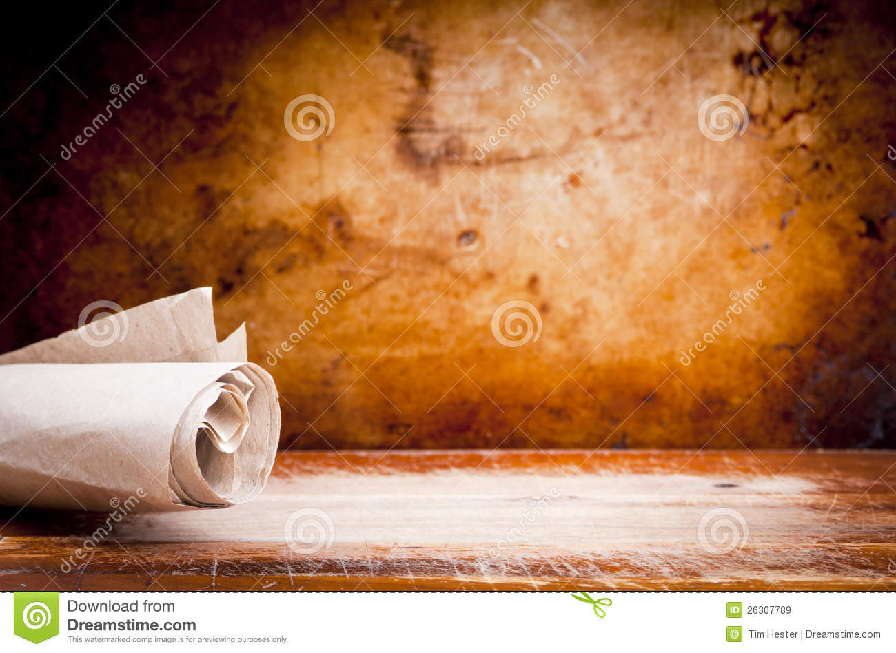 old parchment paper scroll stock image  image of moody