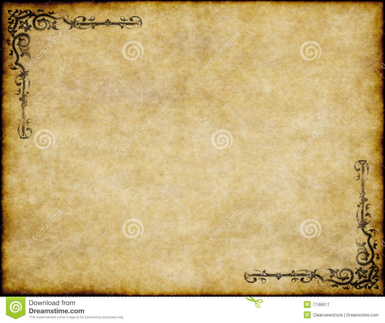 Old parchment paper texture royalty free stock photography image