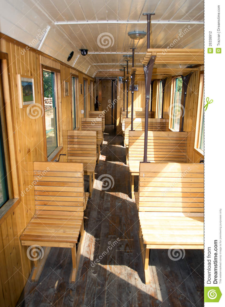 Old Passenger Rail Car Stock Photography - Image: 26338912