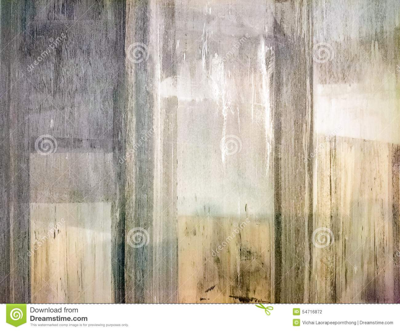 Old Pastel Colors Wood Panels Stock Photo Image 54716872