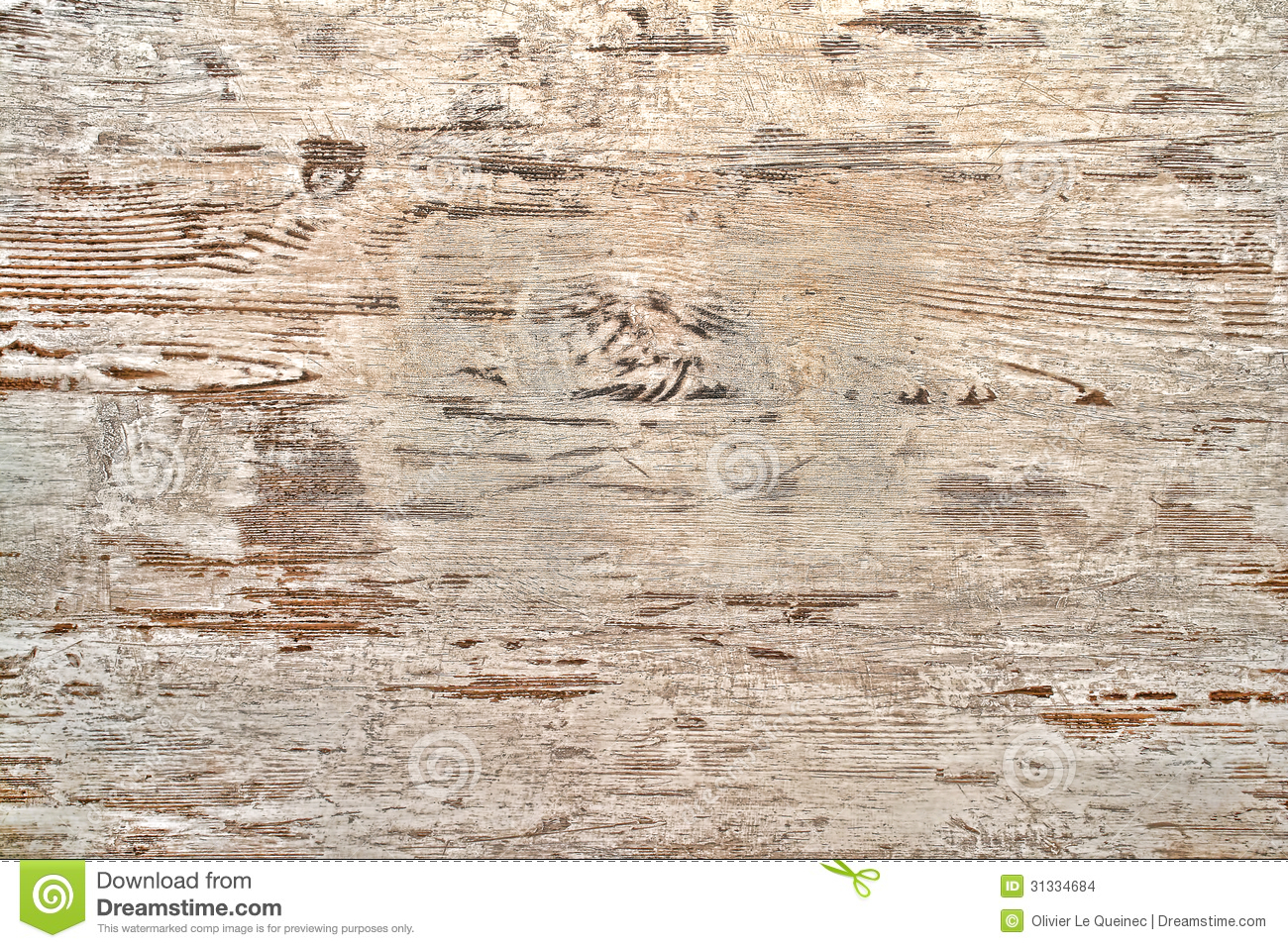 Old Peeling White Paint On Wood Boards Background Stock