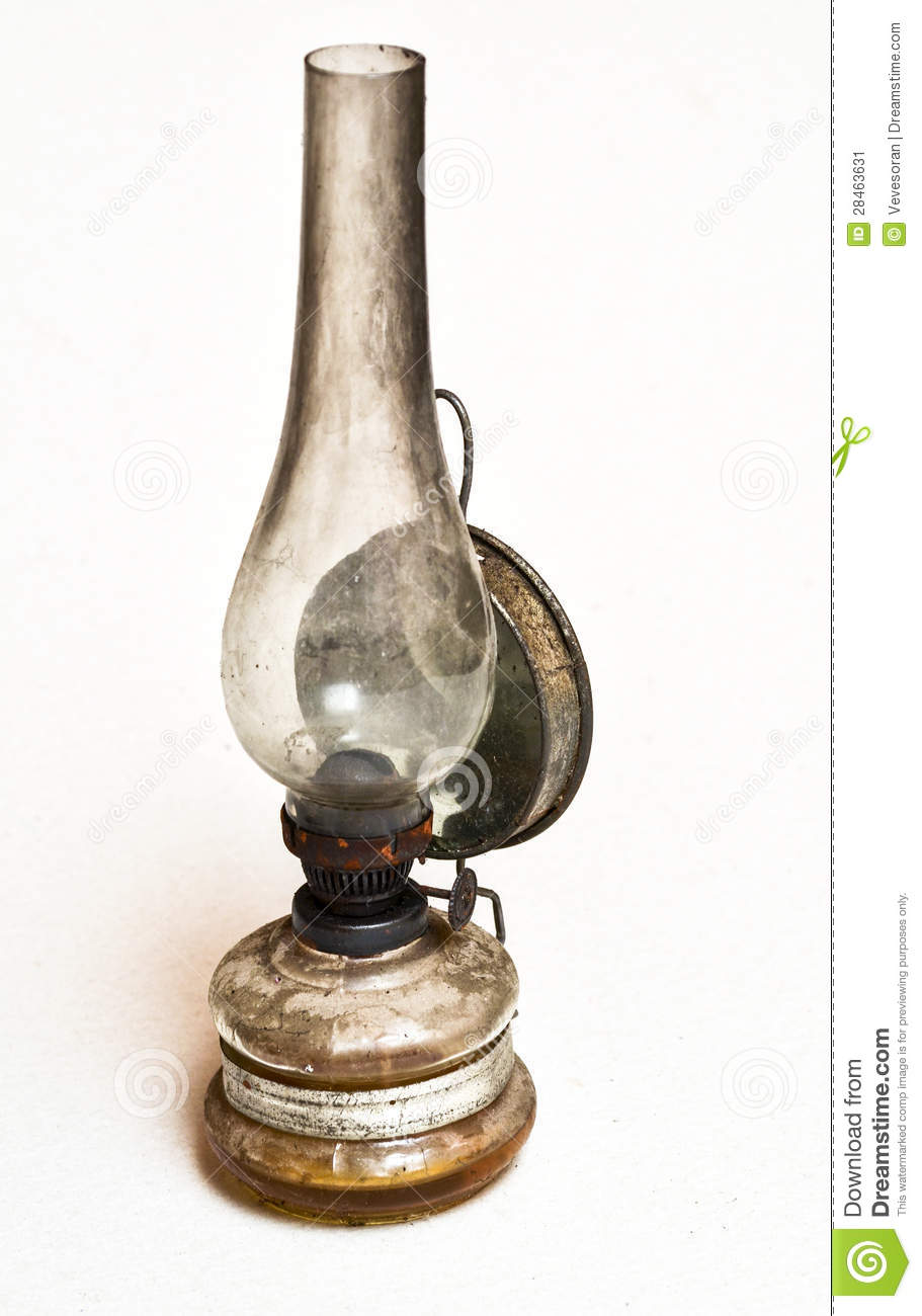 Old Petroleum Lamp Stock Image
