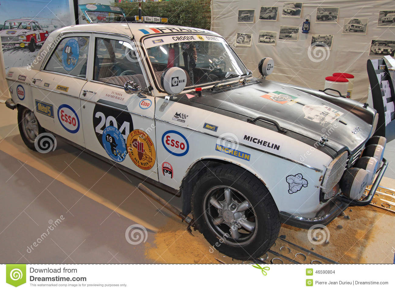 Old Peugeot Rally Car Editorial Stock Image Image 46590804