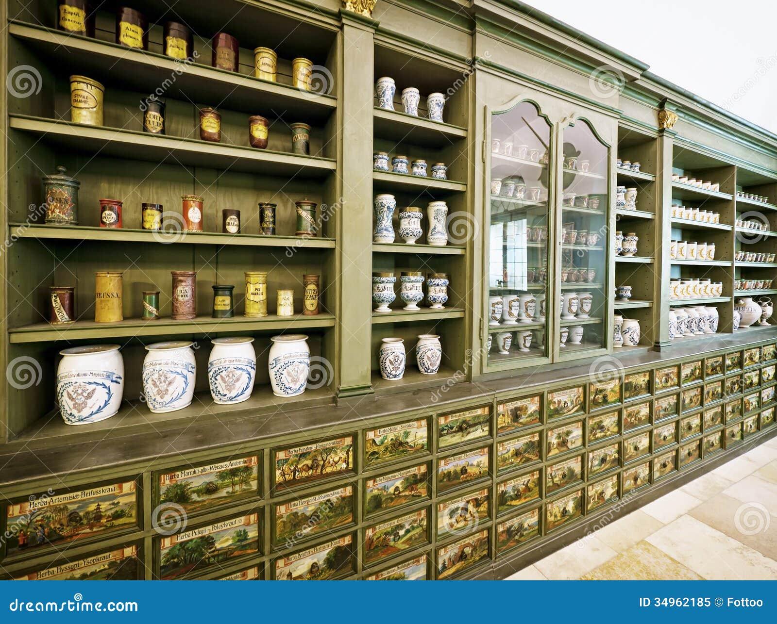 Old Pharmacy Royalty Free Stock Photo Image 34962185