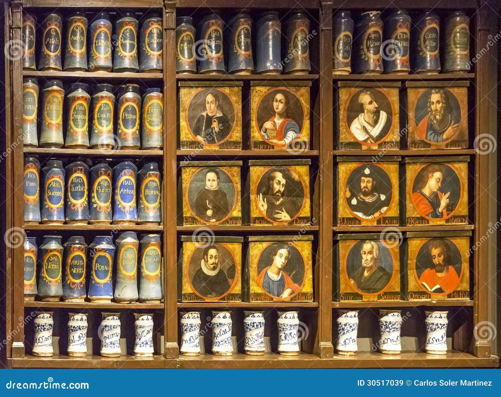 Old pharmacy Llivia