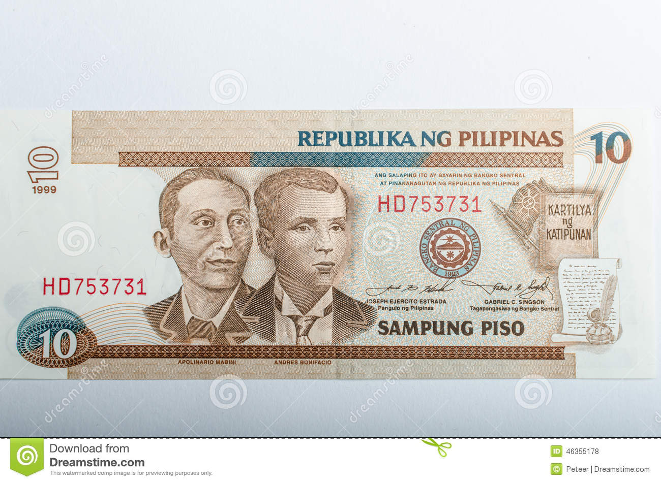 Old Philippines banknotes money