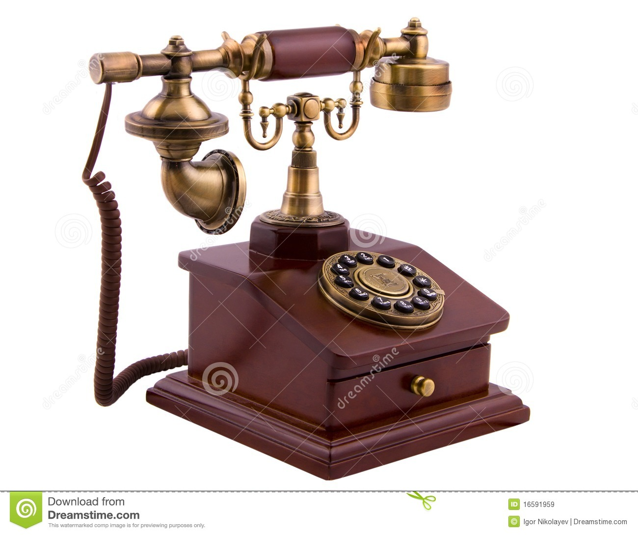Old phone stock image. Image of nostalgic, contact, rare ...