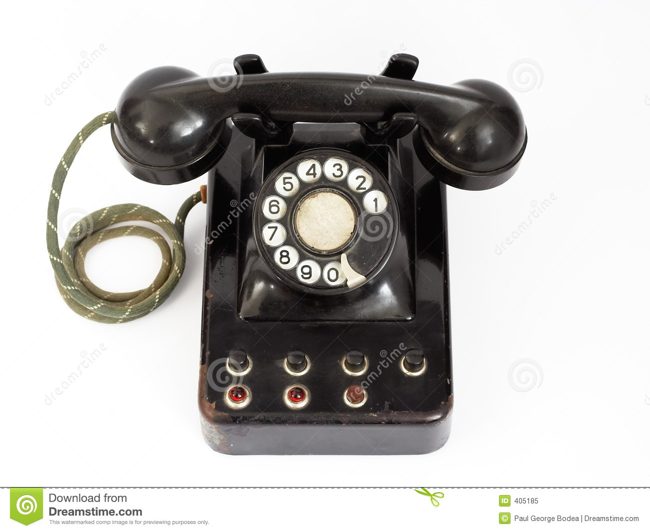 Old Phone Royalty Free Stock Photo Image 405185