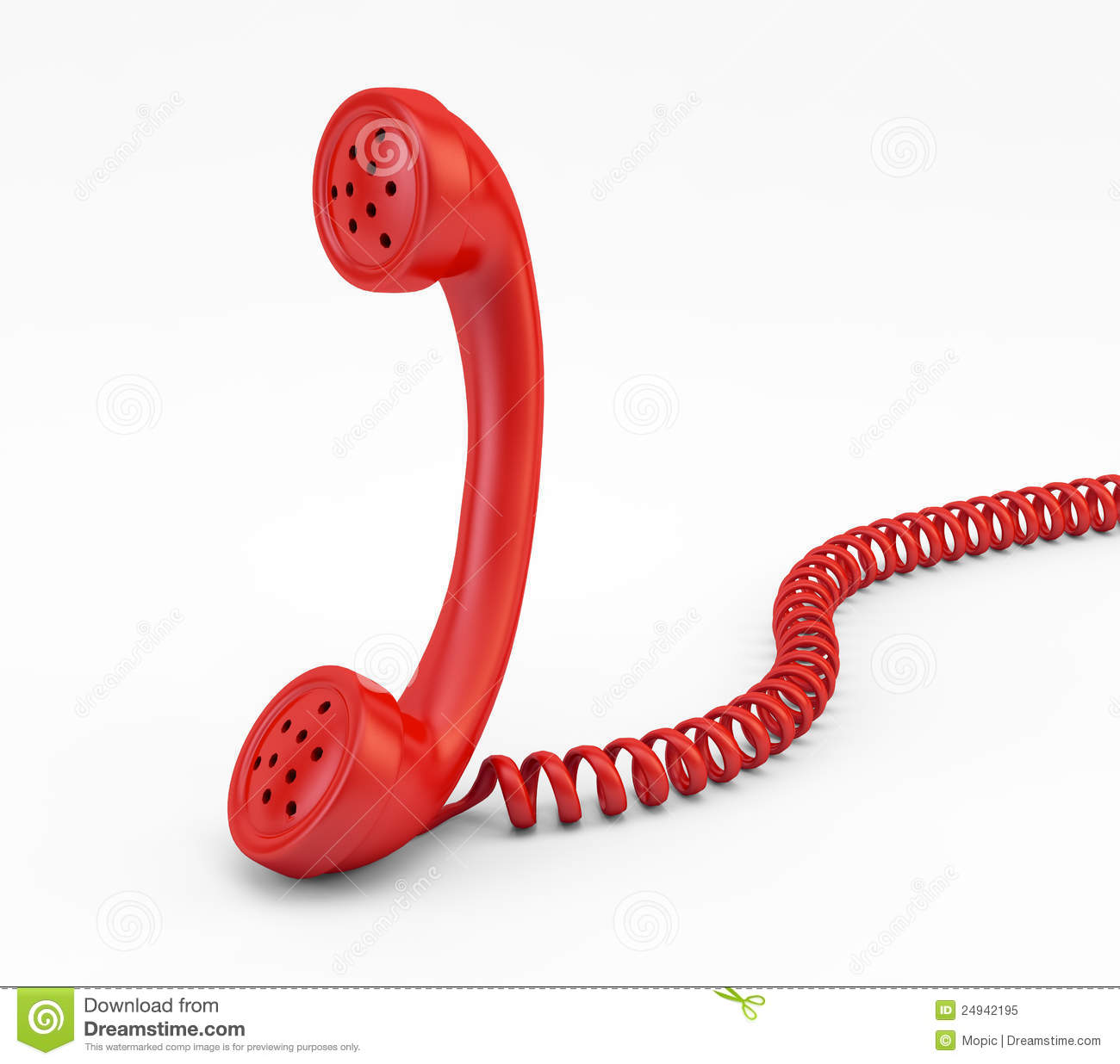 Old Phone Handset Royalty Free Stock Photo - Image: 24942195